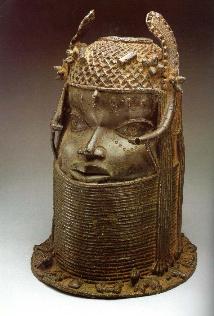 bronze head 2