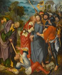 SCHOOL OF THE LOWER RHINE CIRCA 1510-15 THE BETRAYAL OF CHRIST
